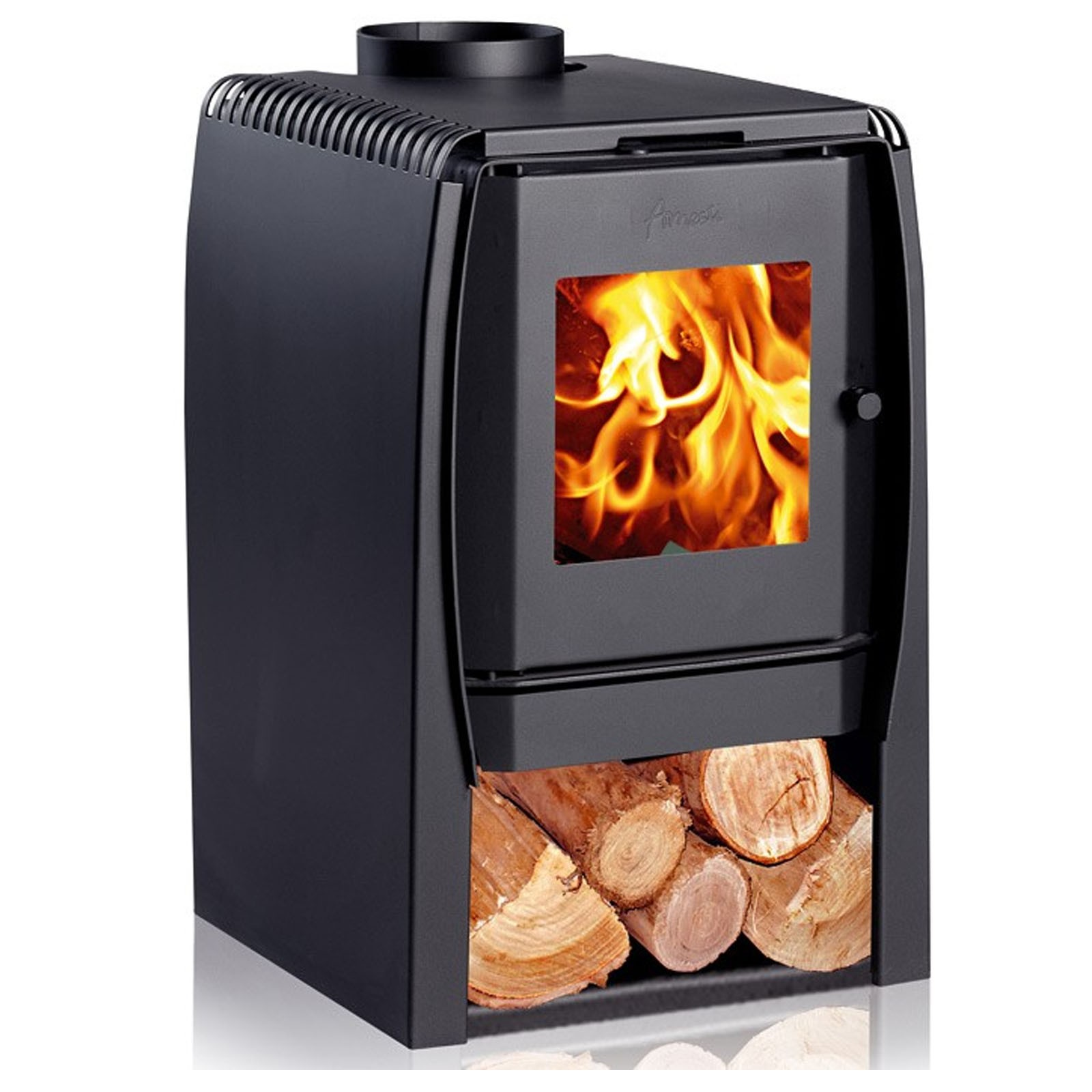Best Uk Prices | Amesti Nordic 360 Wood Burning Stove | Quick Delivery