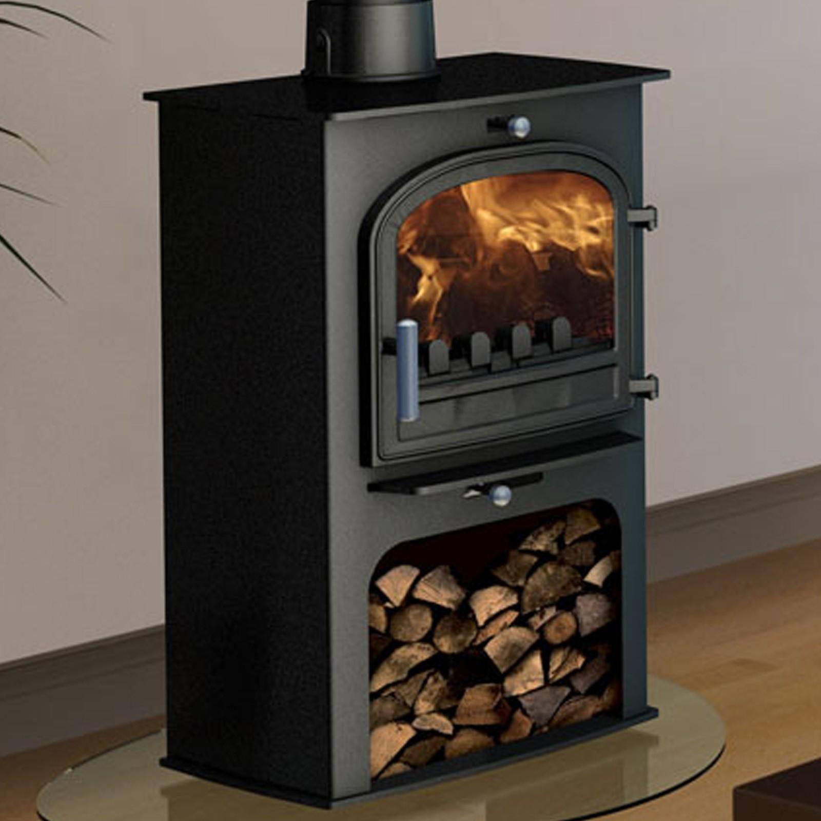 Superb Delivery Cleanburn Norreskoven Mk2 Multifuel Woodburning Stove Great Deals