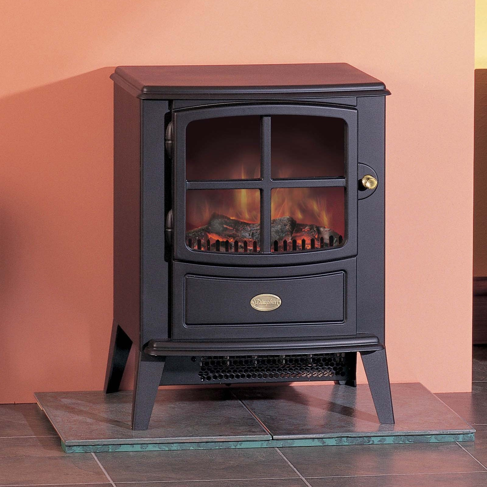 Electric Stoves Product ~ Fantastic seller dimplex brayford black optiflame