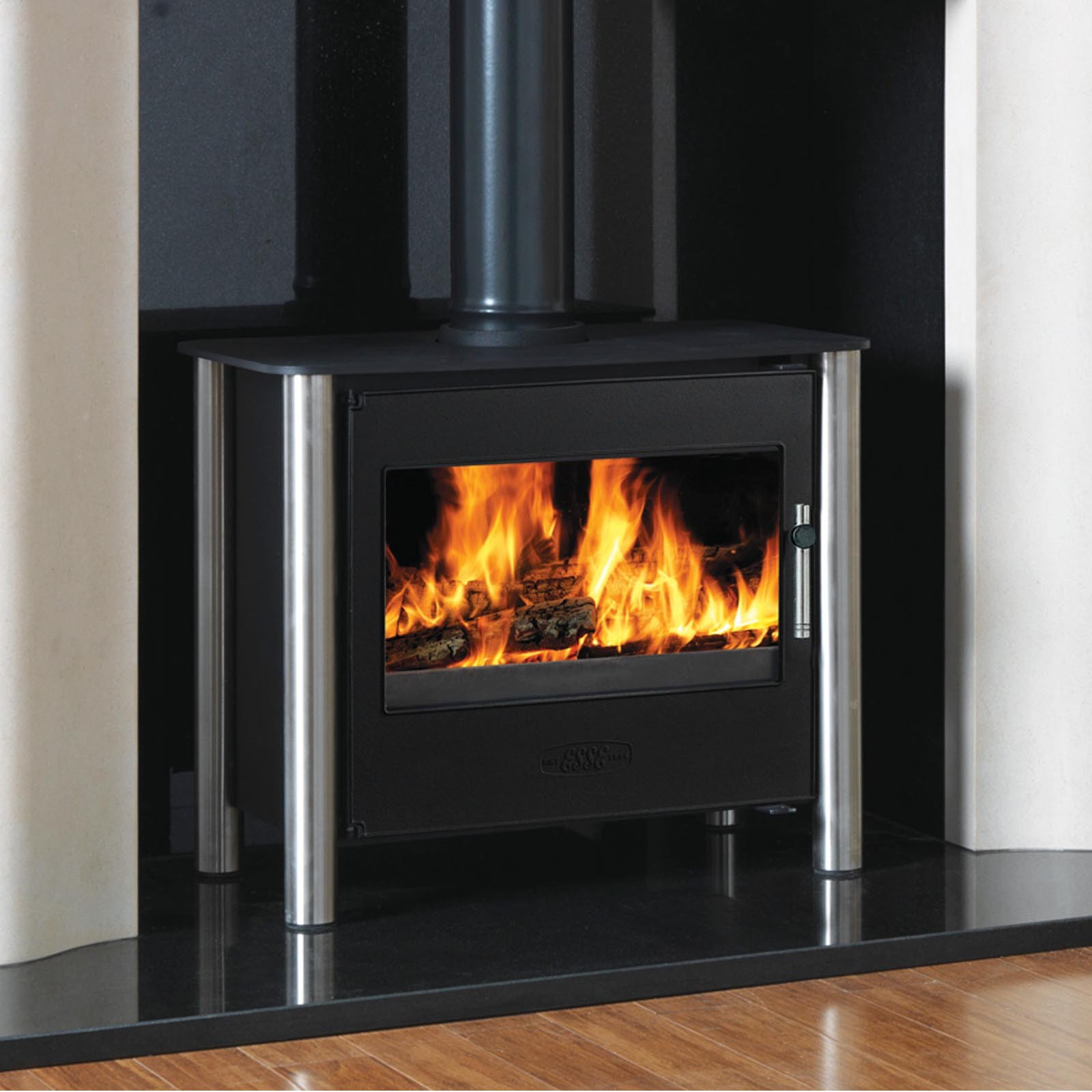UK Deals  Esse 125 Multifuel / Woodburning Gas Stove  Modern Design