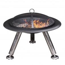 Gardeco Estrella Steel Fire Bowl & BBQ