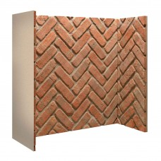 Gallery Rustic Herringbone Brick Chamber