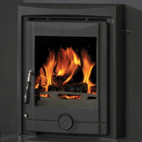 Cast Tec Cougar 5 Inset Multifuel Wood Burning Stove