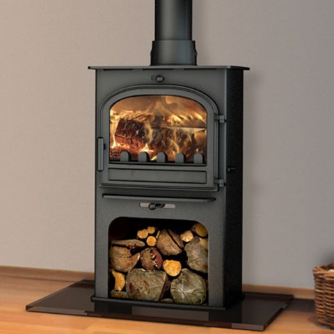 Free delivery cleanburn lovenholm european multifuel for Wood burning stove for screened porch