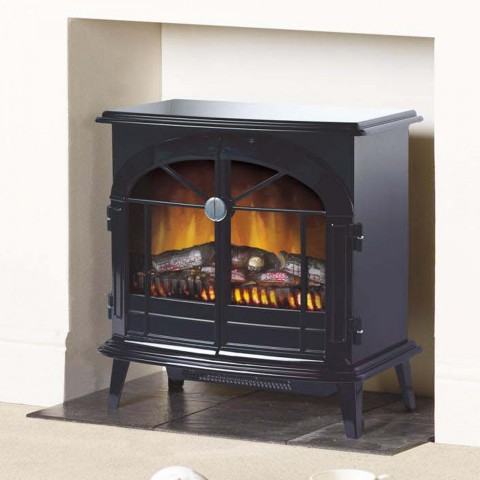 Dimplex Stockbridge Black Optiflame® Electric Stove
