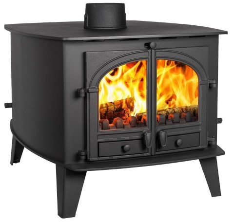 Parkray Consort 15 Double Sided Multifuel Wood Burning Stove