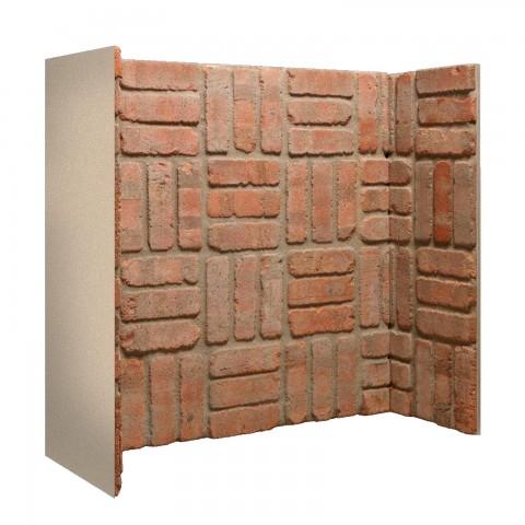 Gallery Rustic Basket Weave Brick Chamber