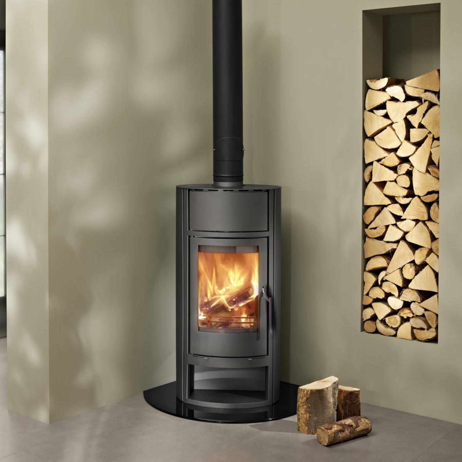 Wood burning boilers indoor