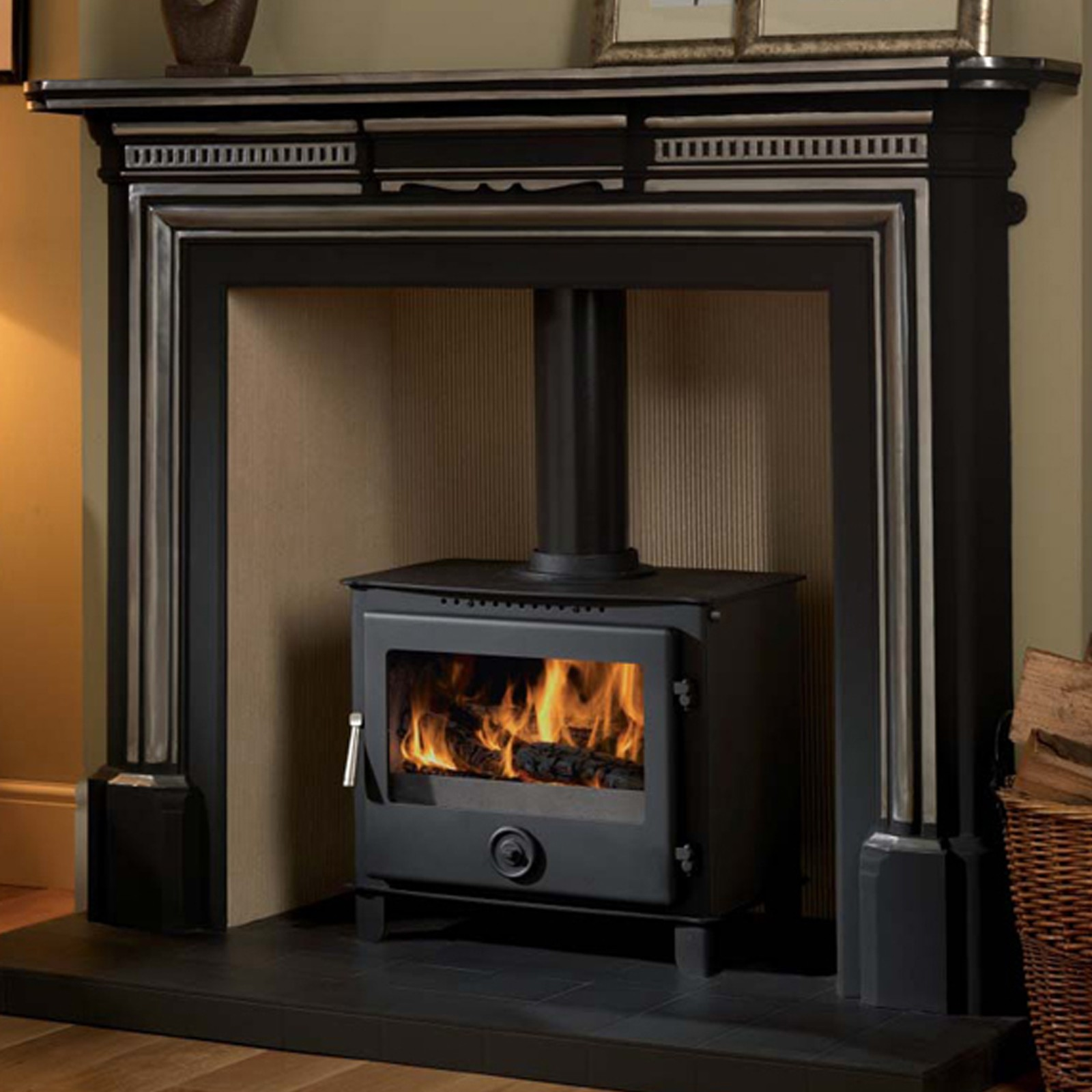 Fast Delivery Cast Tec Firemaster 7 Multifuel Stove
