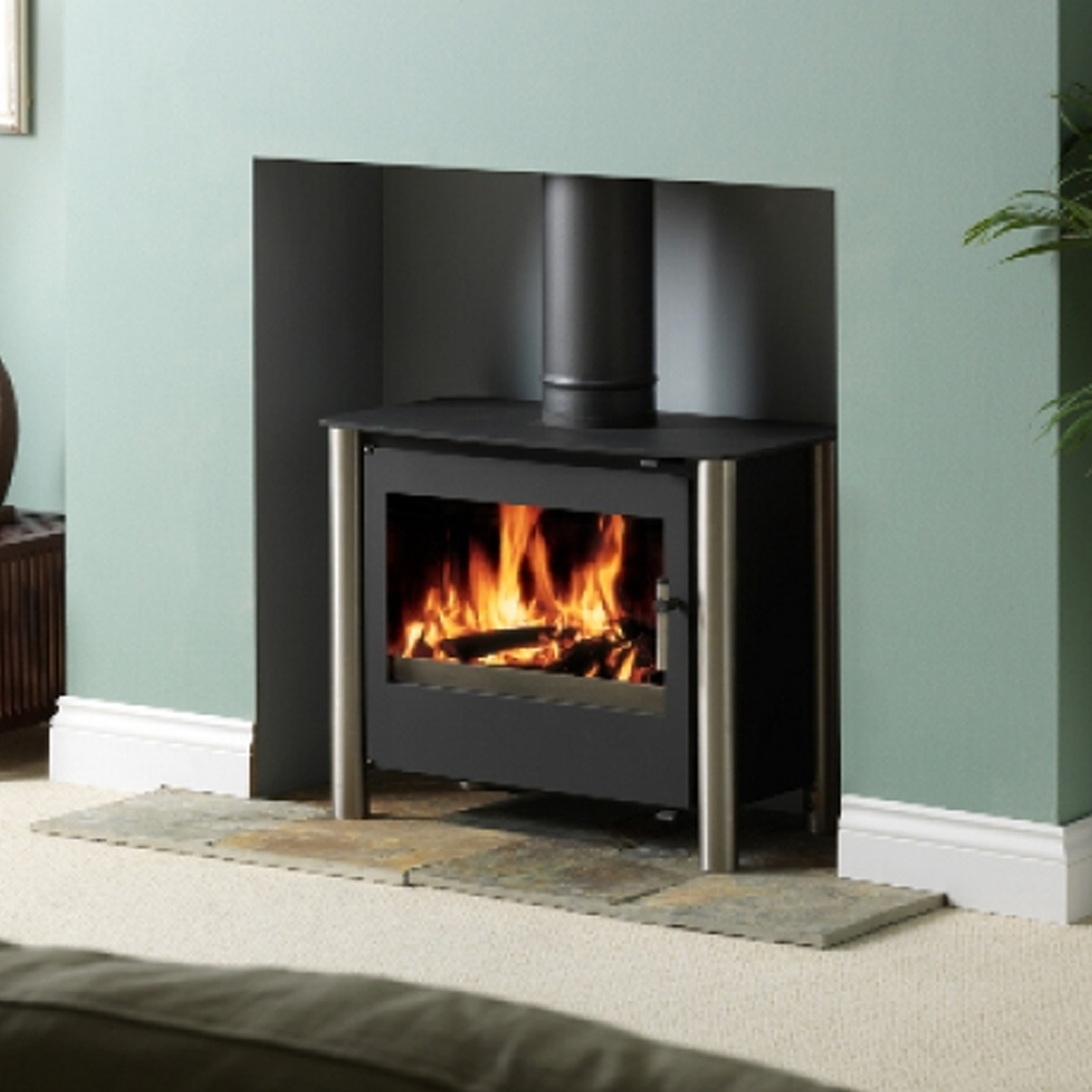 unbeatable uk deals esse 125 multifuel woodburning gas. Black Bedroom Furniture Sets. Home Design Ideas