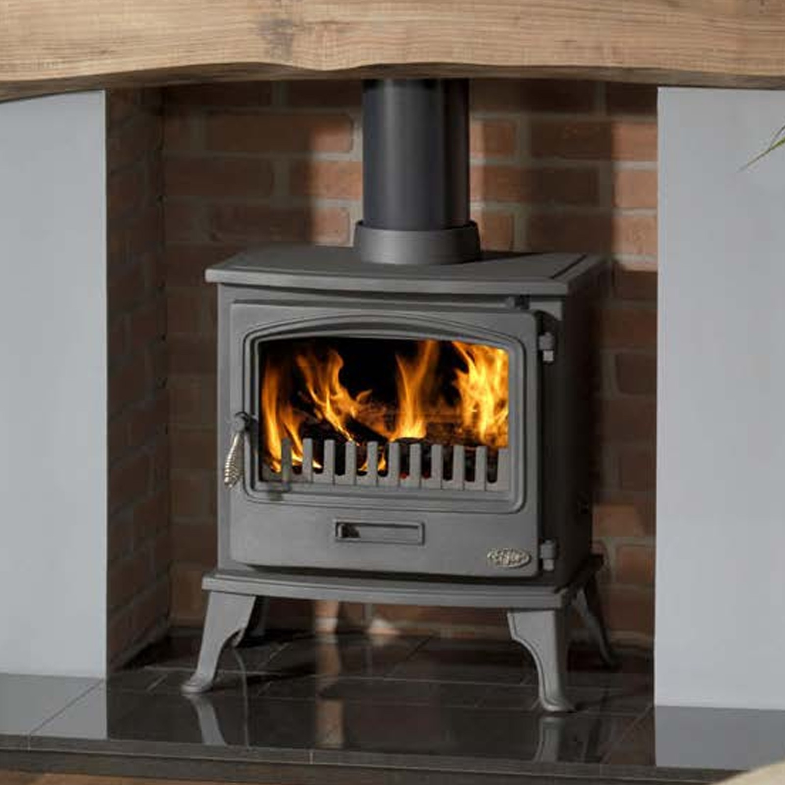 Gallery tiger clean burn defra wood burning stove Wood burning stoves