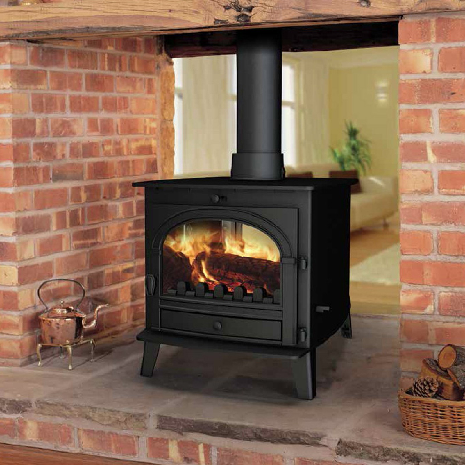 Superb Beauty | Parkray Consort 7 Double Sided Woodburning ...