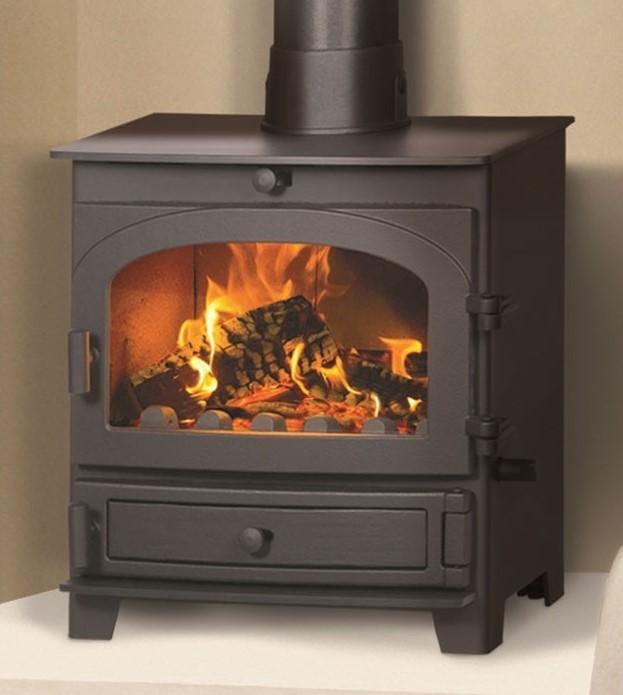 Parkray Derwent Multifuel Wood Burning Stove Multifuel