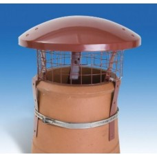 Colt High Top Pot Hanger & Bird Guard Chimney Cowl
