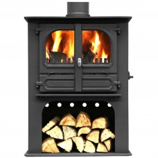 Dunsley Highlander 10 Wood Burning/Multifuel Log Store Stove
