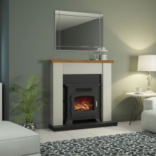 "Be Modern Ravensdale 42"" Fireplace Stove Suite"