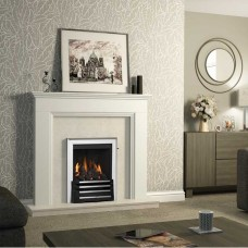 "Be Modern Westerdale 48"" Timber Fireplace Suite"