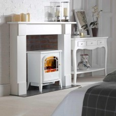 Dimplex Courchevel Matt White Optiflame® Electric Stove